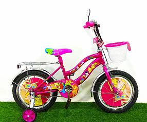 """Детский велосипед  Winx 14"""" розовый"""