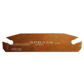 Вставка  SPB326 бронза в держатель SMBB 3мм