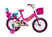 """+ Подарок Велосипед 16 """"SHENGDA"""" Pink T15, Ручной и Дисковый Тормоз"""