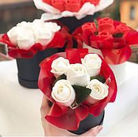 Съедобные розы, букет 5 шт