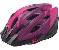 Шолом велосипедний Kls Blaze 018 M-L Pink Violet SKL35-187723