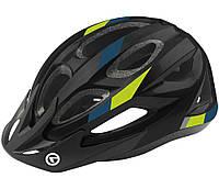 Шолом велосипедний Kls Jester M-L Black Green SKL35-187724