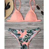 Стильный женский пляжный раздельный купальник