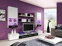Гостиная Cama 2 белый/белый-черный (Cama)