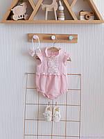"""Набір літнього одягу для дівчинки """"Зефір"""", Рожевий"""