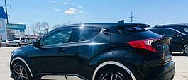 Ветровики, дефлекторы окон Toyota C-HR 2018 'Cobra tuning'