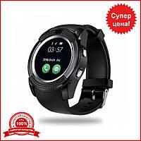 Smart Watch V8 black. Умные часы v8 черные