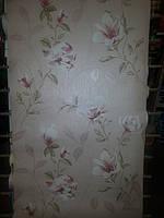 Обои бумажные  Шарм 0,53*10,05 цветок крупный нежные 8148-02