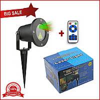 Уличный новогодний лазерный проектор laser light 85 с пультом