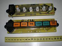 Блок контрольных  ламп (ЕВРО) повороты, блокировка, факельная  свеча). 2312.3803010-24