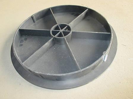 Крышка колодец из полипропилена D425, H48 для сада, фото 2