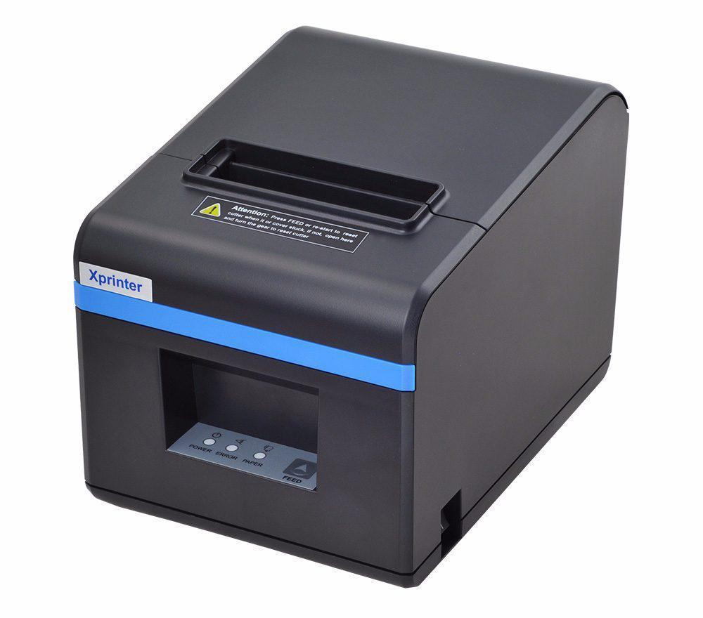 Термопринтер чеков Xprinter XP-N160II LAN (Ethernet)