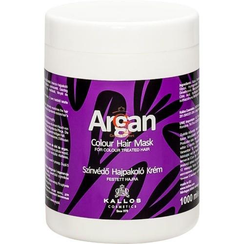 Маска для фарбованого волосся Kallos Argan color hair mask 1000 мл