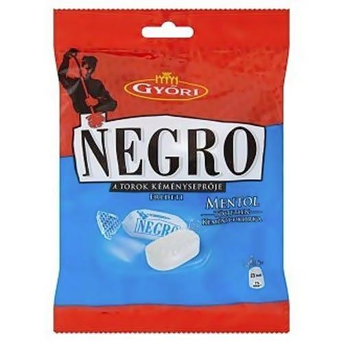 Льодяники Negro Mentol 79 г (Ментол)