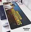 БОЛЬШОЙ геймерский коврик для мышки игровая поверхность  BATTLEGROUNDS R-700 (70х30см), фото 3