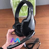 Игровые наушники с микрофоном Canleen CT-660 геймерские проводные для Xbox и PS sony playstation