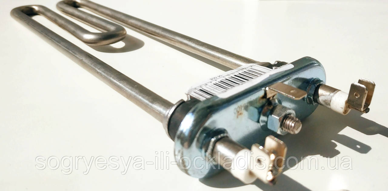 Тэн для стиральной машины l=250mm P= 1950W 01.068 Kawai код товара: 7451