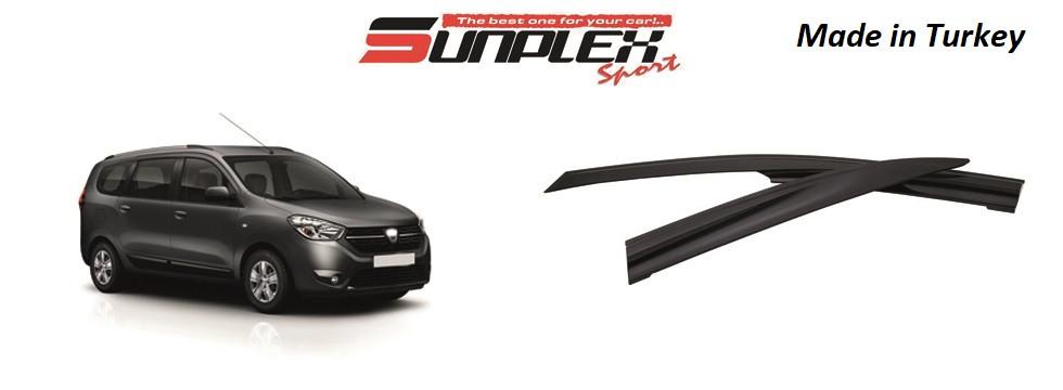 Дефлектор на окна SUNPLEX RENAULT / DACIA LODGY 2012-2016 SP-S-75