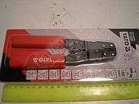 Клещи для спрессовки  наконечников  кабеля. НТ-7050