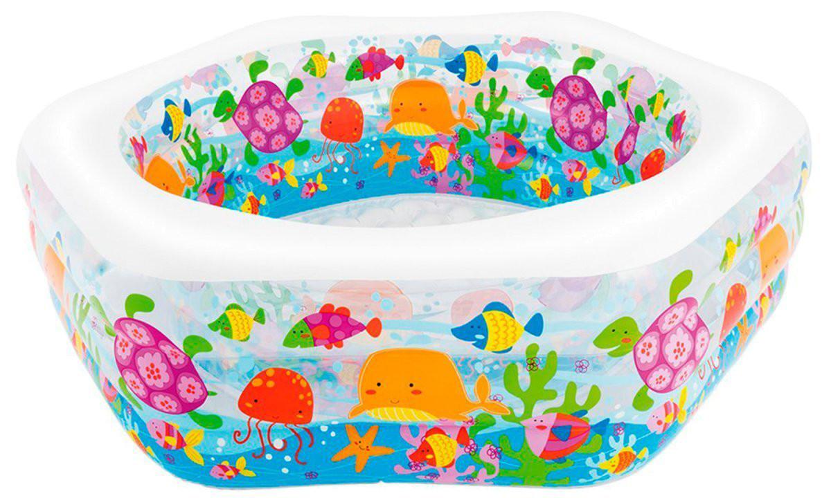 Детский надувной бассейн Intex Океанский Риф 56493