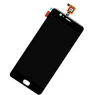 LCD з тачскріном (модуль) для смартфона Elephone P8 MAX Чорний, фото 1