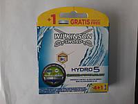 Касет для гоління чоловічі Wilkinson Sword Hydro 5 Groomer 4+1 шт. (Шик Вілкінсон Грумер ) Німеччина