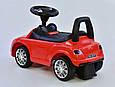 Дитяча машинка-толокар JOY R - 0001 Червоний (музичний кермо, 2 пісні, російське звучання, багажник), фото 5