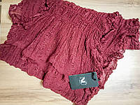 Шарф ажурный цвет марсала NU Denmark(Дания), фото 1