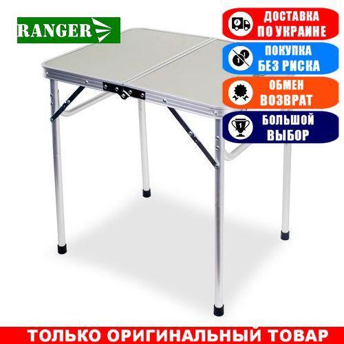 Стол туристический складной Ranger Slim, складная столешница; 37/70х90х60см. Складной стол Ренжер Slim.
