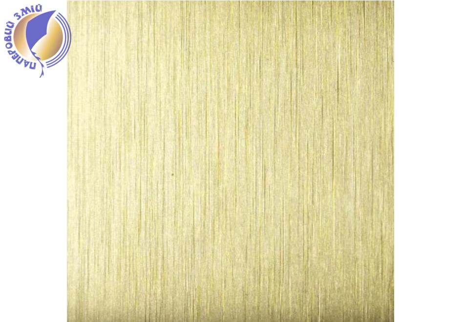 Металл для сублимации 61х30.5 см, (золото металлик, 0.5мм)