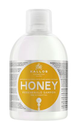 Відновлювальний шампунь з екстрактом натурального меду Kallos honey 1000 мл, фото 2
