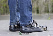 Сандалі чоловічі чорні 40р, фото 3