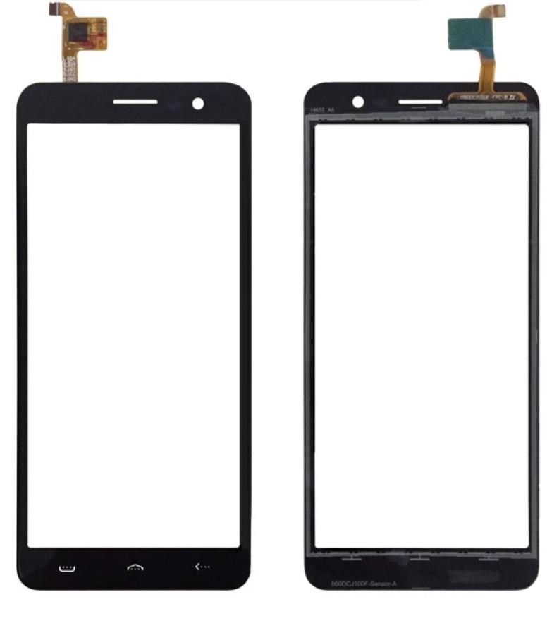 Touchscreen (сенсор) для Homtom S12 Чорний
