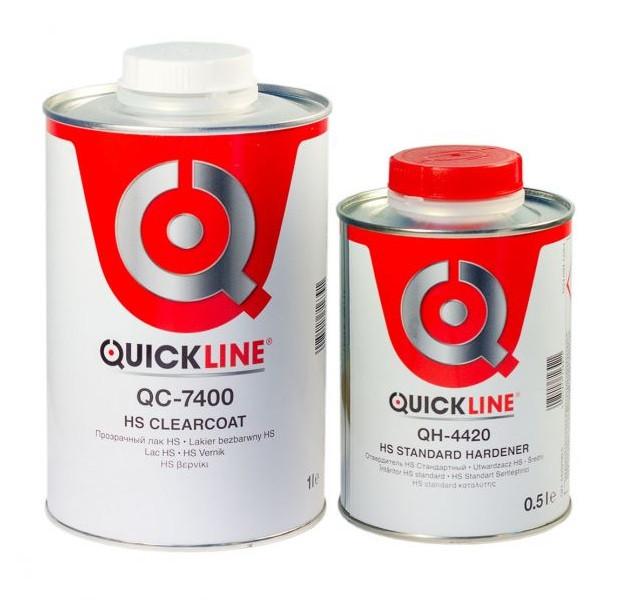 Лак Quickline QC-7400 HS + ОТВЕРДИТЕЛЬ (1+0,5)