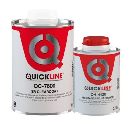 Лак Quickline QC-7600 SR Clearcoat устойчивый к царапинам + ОТВЕРДИТЕЛЬ