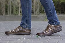 Сандалии мужские бежевые 40р, фото 3