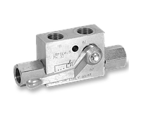 Одноклапанный (односторонний) гидрозамок с краном Walvoil серии VBPSL/R