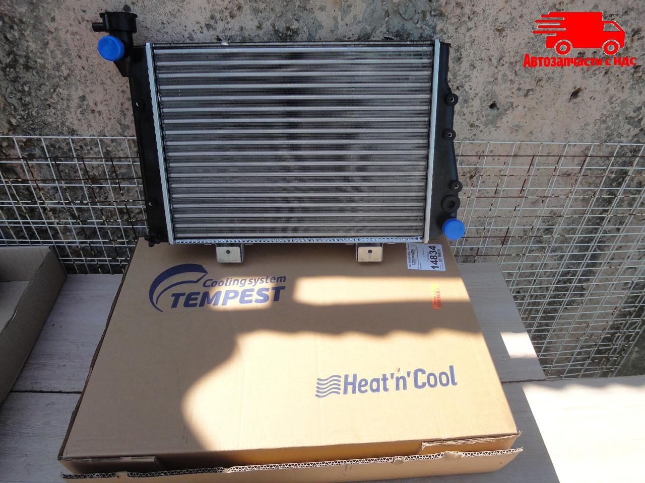 Радиатор водяного охлаждения ВАЗ 2107 (карб.) (TEMPEST). 2107-1301010. Ціна з ПДВ.