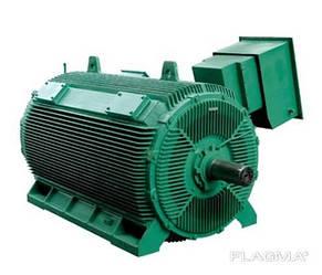 Компактный асинхронный электродвигатель
