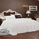 Покривало Хутряне Травка  Плюш Рожеве 220 х 240 см Євро покривало на ліжко пакування подарункова сумка, фото 10