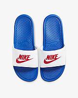 Мужские сланцы Nike Benassi JDI 343880-410 Оригинал, фото 1