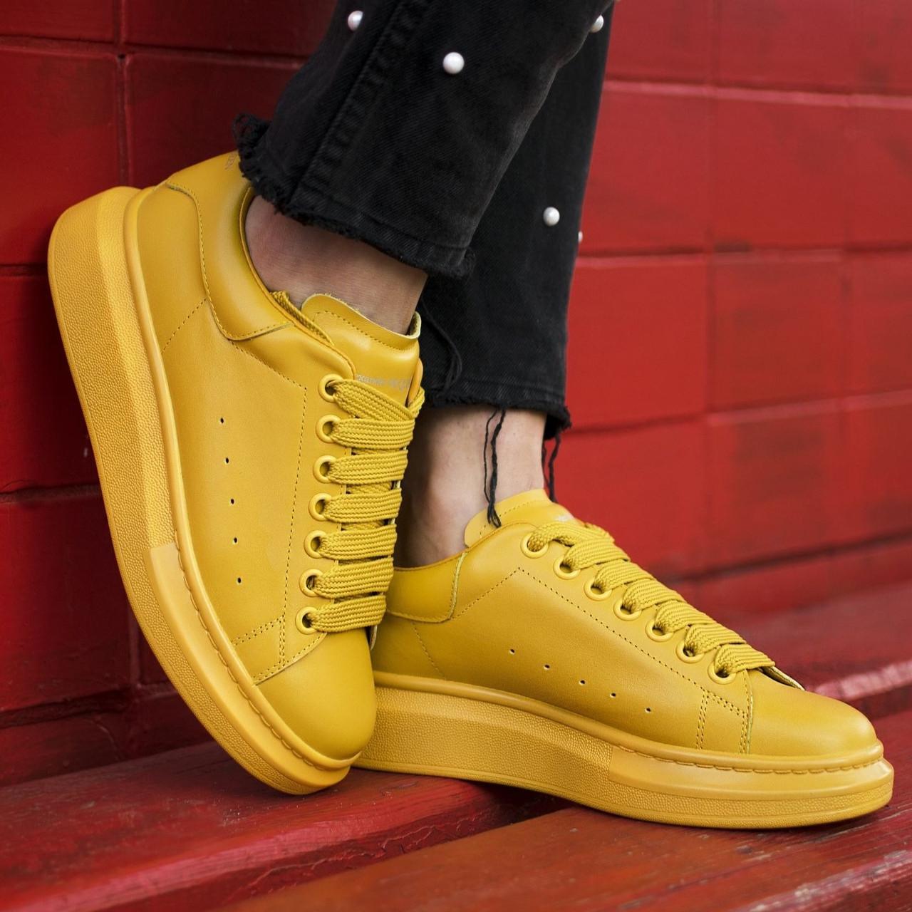 Женские кроссовки в стиле Alexander McQueen (люкс)