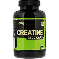 Креатин моногидрат - Optimum Nutrition Creatine 2500 Caps / 100 caps