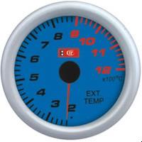 7708  LED Температура выхлопных газов стрелочный диам.52мм.