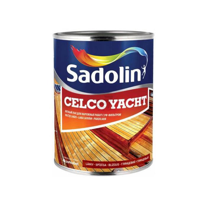 Лак для наружных работ CELCO YACHT 1 л Глянцевая