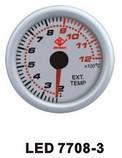 7708-3 LED Температура выхлопных газов стрелочный диам.52мм, фото 3