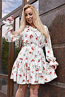 """Женское модное платье """"Бьянка"""" 42-54р"""