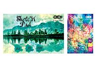 Альбом для рисования, А5, 20 листов, 200г/м2, клееный блок, ART Line