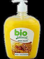 """Крем-мыло «Мед с молоком» ТМ """"BIO Naturell"""" 500мл"""