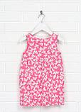 Малиновое повседневное платье H&M бабочки, фото 2